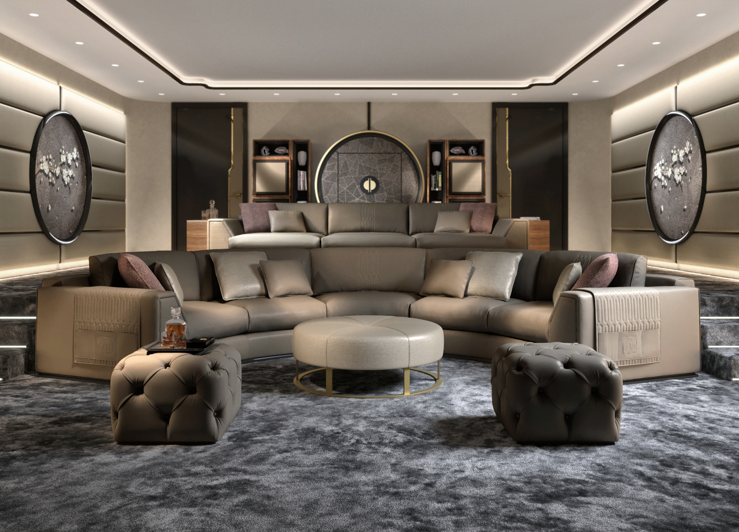 luxury furniture complements