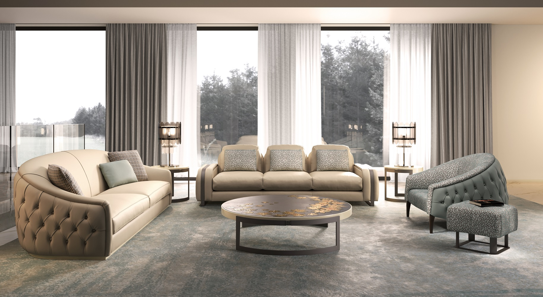 furniture luxury complements